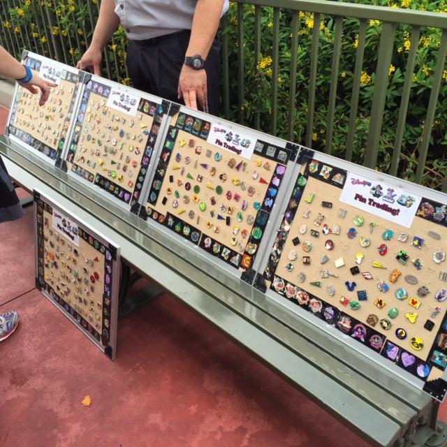 Magic Kingdom Pin Bench