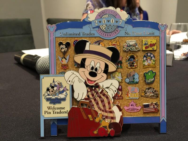 Mickey as Scoop Sanderson Jumbo Pin