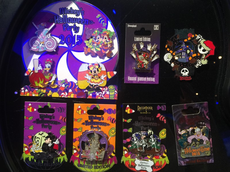 Mickey's Halloween Party 2015 Pins