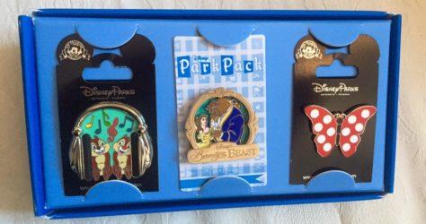 September 2015 Disney Park Pack Pins