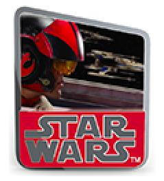 Star Wars Poe Countdown #2 Pin