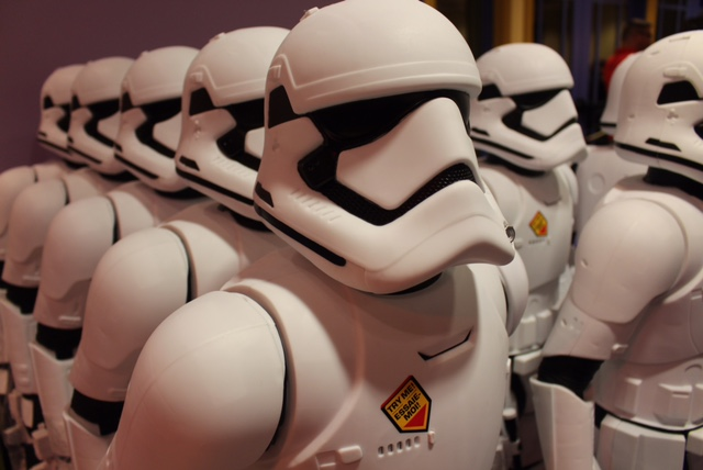 Star Wars Stormtrooper Close up