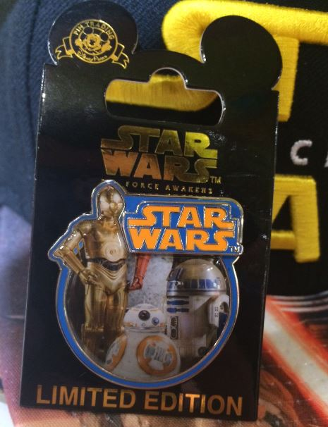 Star Wars The Force Awakens Limited Edition Pin