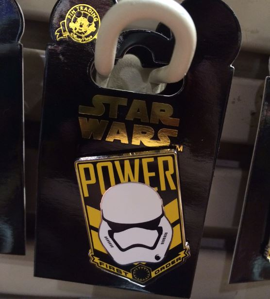 Star Wars The Force Awakens Stormtrooper Pin