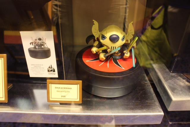 Stitch as Grievous Statue