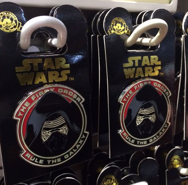 The First Order Star Wars Pin