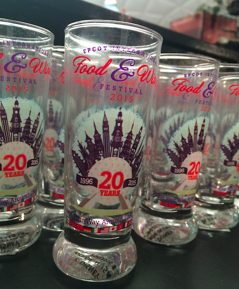 20th Anniversary Shot Glass