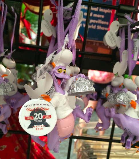 Chef Figment Christmas Ornaments