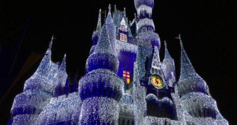 Disney Cinderella Castle Holiday