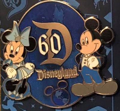 Disneyland 60th DVC Pin