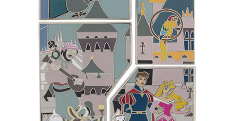 Disneyland 60th Mystery Puzzle Pins 2015