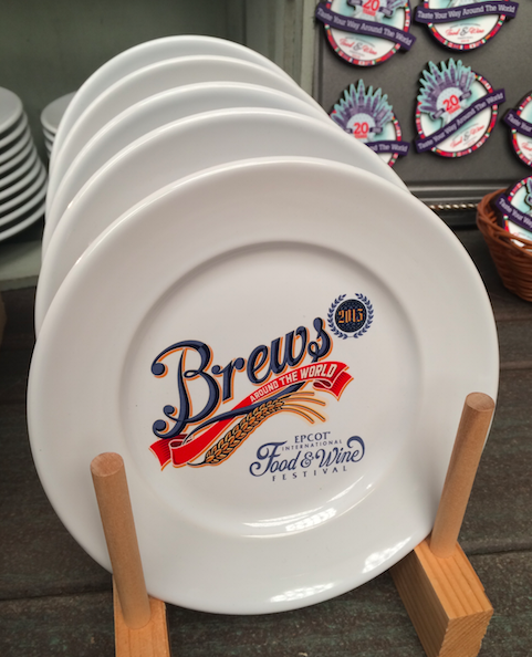 Epcot Food WIne Festival Brew Plates 2015