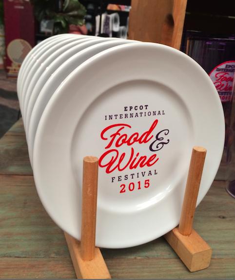 Epcot Food Wine Festival Plates 2015