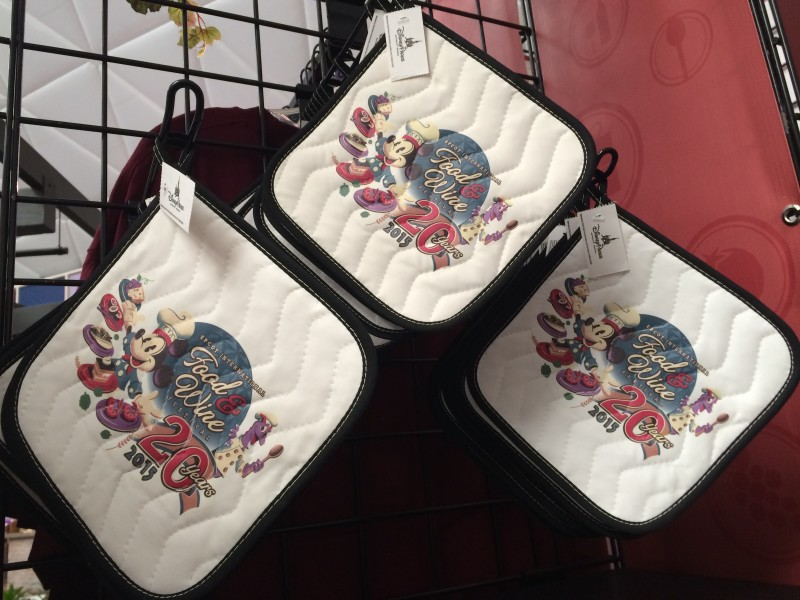 Epcot Food Wine Oven Mitts 2015