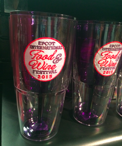 Epcot Food Wine Tumbler 2015