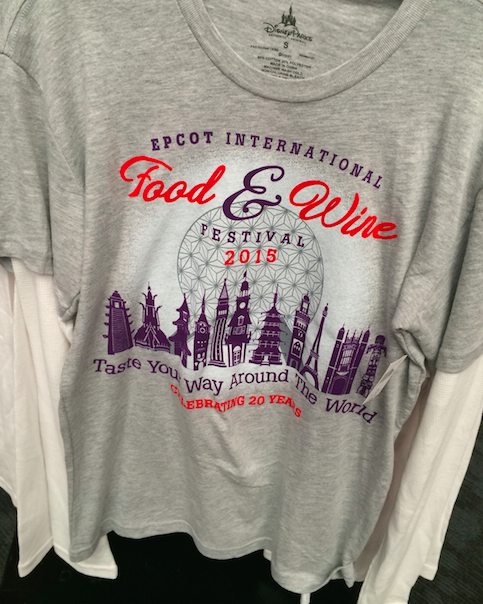 Epcot Taste Your Way Aroun The World Shirt