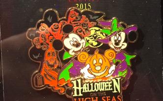 Halloween on the High Seas Disney Pin 2015