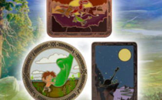 Limited Edition The Good Dinosaur Pin Set