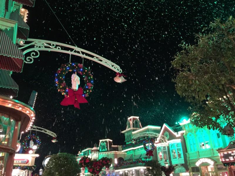 Magic Kingdom Main Street Holiday