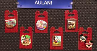 New Aulani Disney Pins 2015