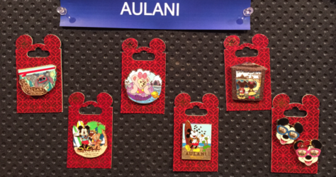 New Aulani Disney Pins 2015