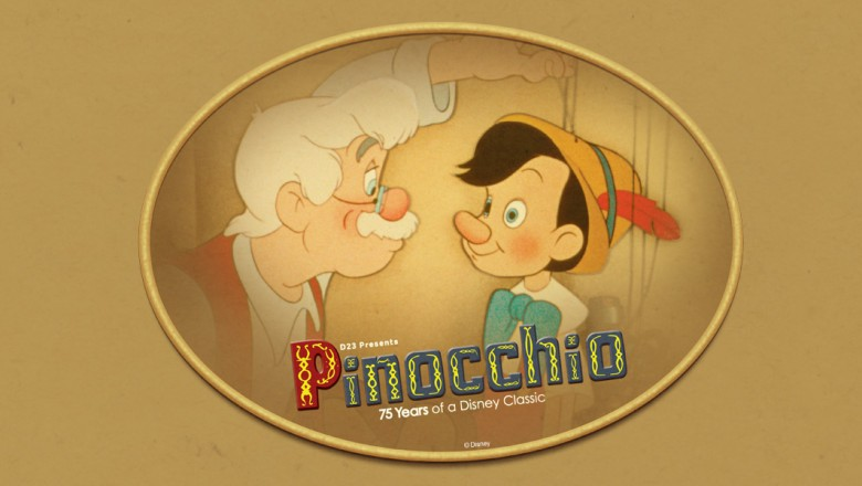 Pinocchio Mickey's of Glendale Orlando D23 Event