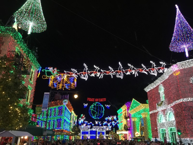 Spectacle of Dancing Lights - Disney's Hollywood Studios