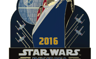 Star Wars Day at Sea 2016 Logo Pin
