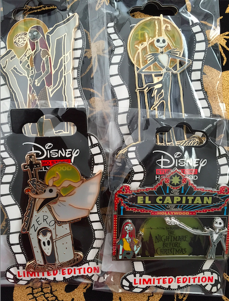 Nightmare Before Christmas Pins Archives - Disney Pins Blog