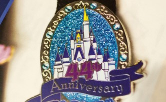 Walt Disney World 44th Anniversary Pin