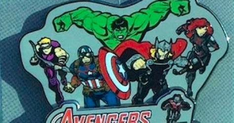 Avengers Super Heros Half Marathon 2015 Pin