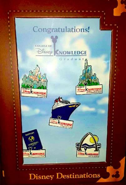 Disney Destinations Pins