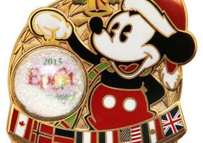 Disney Holiday's Around the World 2015 Pin