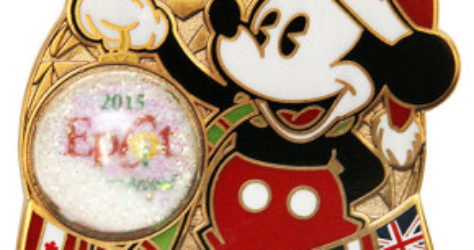 Disney Holiday's Around the World 2015 Pin