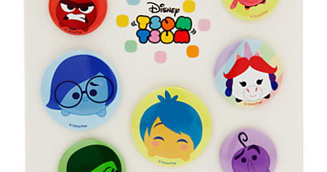 Disney Pixar Inside Out Tsum Tsum Badge Set