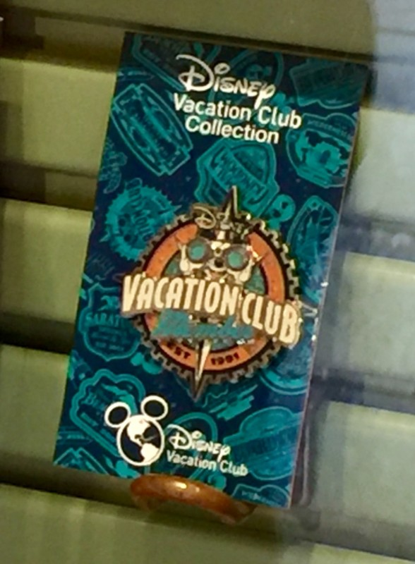 Disney Vacation Club Pin 2015