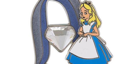 Disneyland 60 Alice in Wonderland Pin