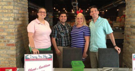 Jennifer Romano, Matt Diaz, Megan Robinson, Ryan Mondics - Disney Pins Blog Team