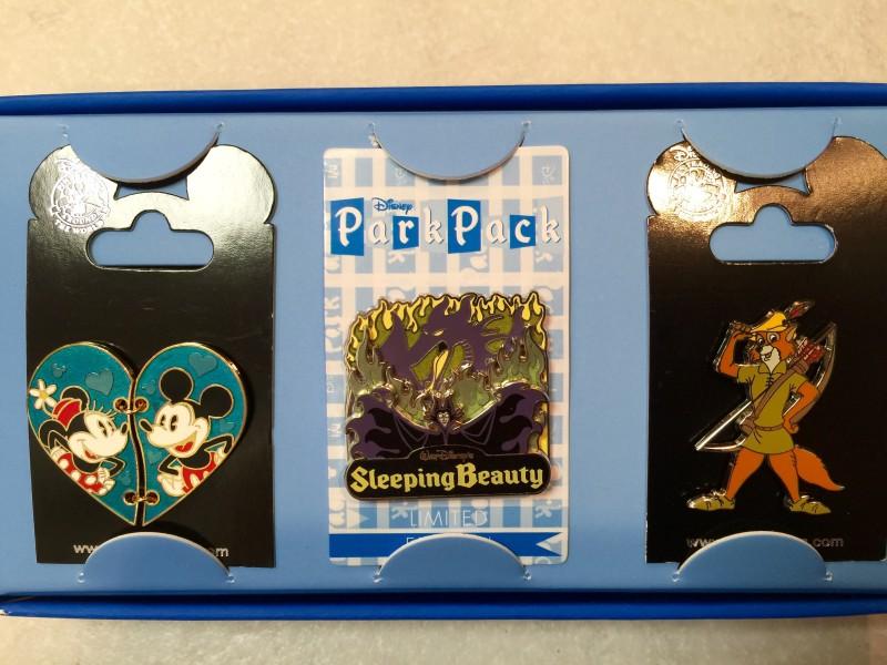 November 2015 Disney Park Pack Pins