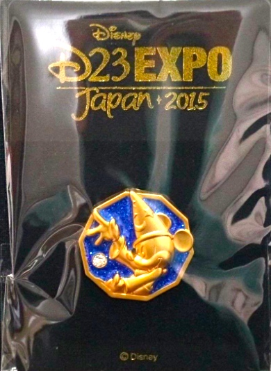 Sorcerer Mickey Pin - D23 Expo Japan 2015