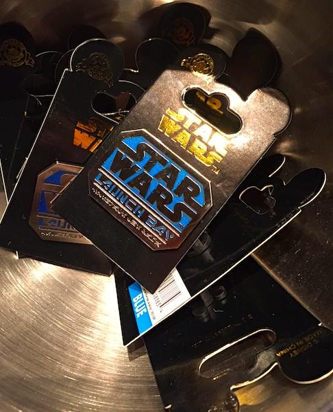 Star Wars Launch Bay Pins