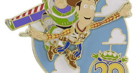 Toy Story 20th Anniversary Pin