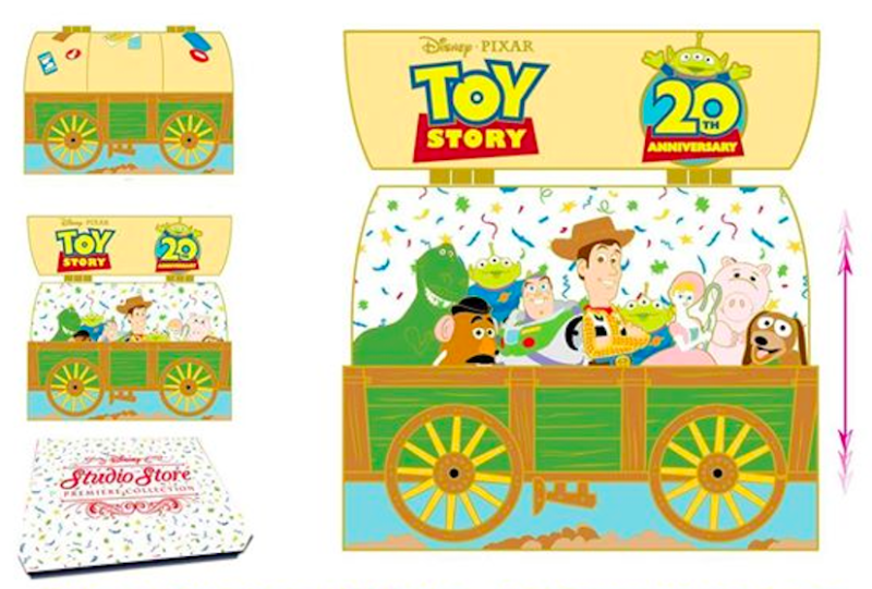 Toy Story 20th Surprise Pin