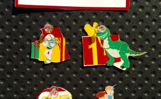Toys for Tots 2015 Disney Pins