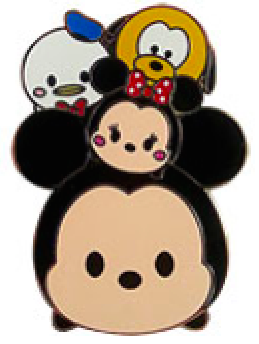 Tsum Tsum Mickey and Friends VIP Disney Pin
