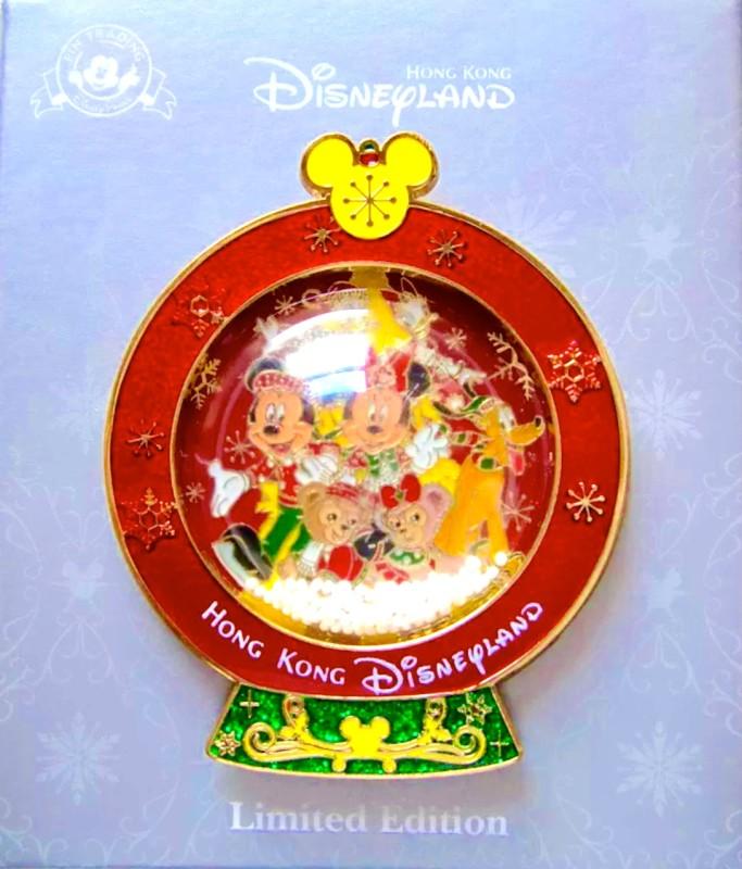 2015 Hong Kong Disneyland Christmas Pin