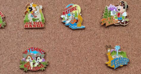 Adventures by Disney Wyoming 2005 Pins