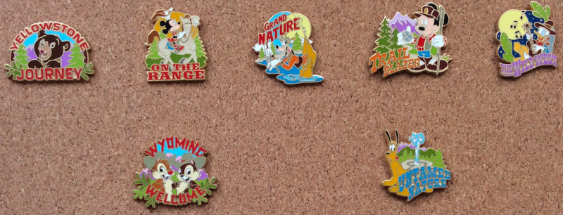 Adventures by Disney Wyoming 2005 Pins