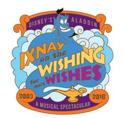 Aladdin A Musical Spectacular Pin