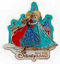 Christmas Frozen Pin 2015 - Hong Kong Disneyland